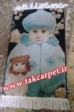 بافت تابلو فرش tableau carpet