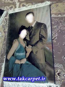 تابلو فرش تک ازدواج