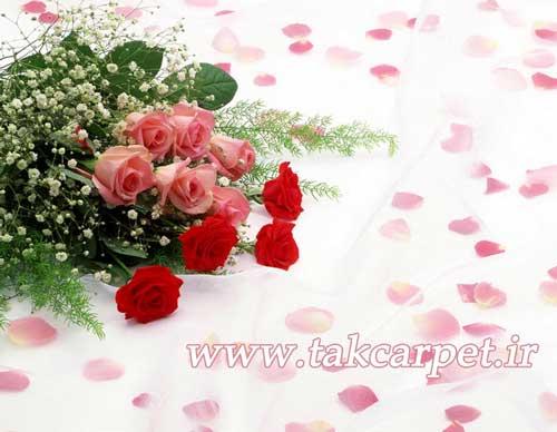 گل هدیه وکادی سالگرد ازدواج هدیه بدهید